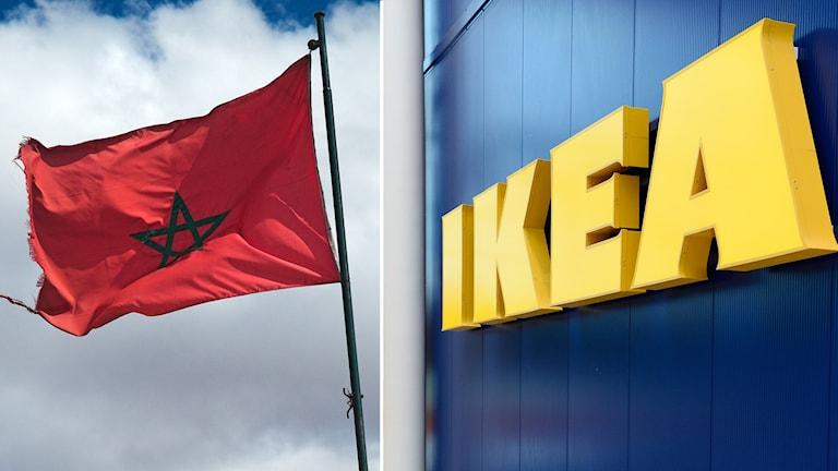 IKEA marocko. Foto: Anders Wiklund/TT och Jochen Frey/Flickr.