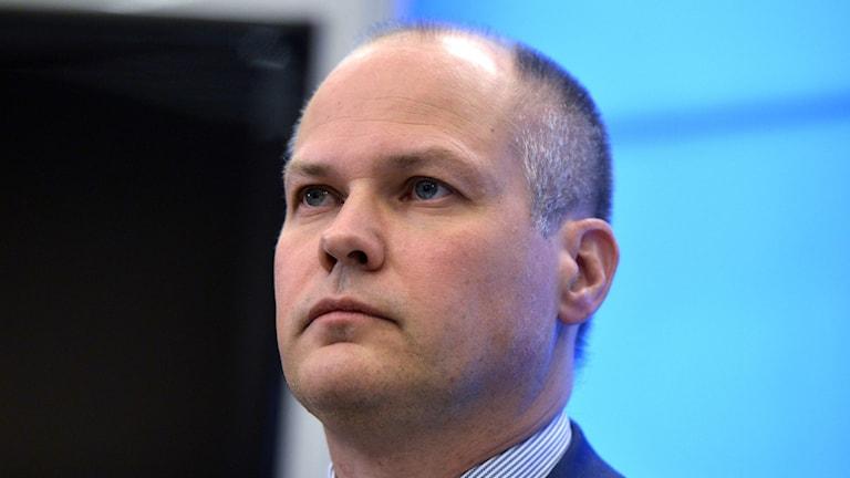 .Министр юстиции и миграции Морган Юханссон. Фото:TT