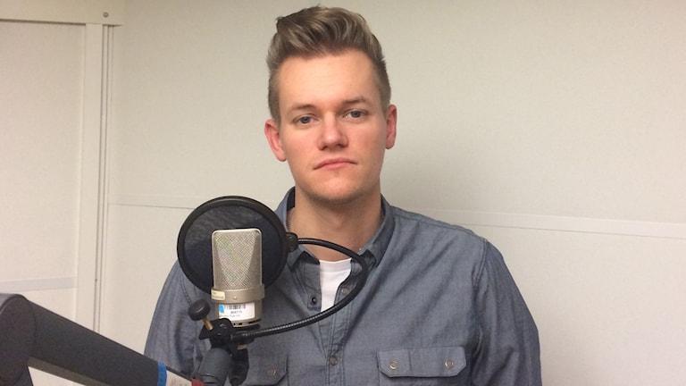 Joakim Medin, frilansjournalist, Foto:Talib Yass/Sveriges Radio