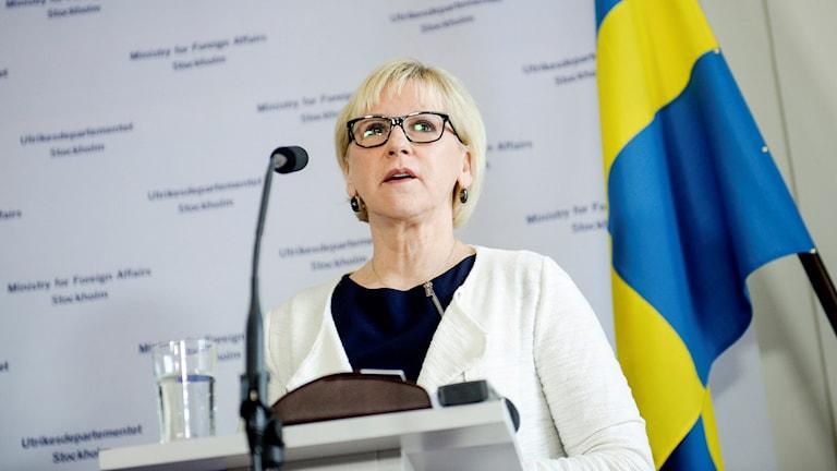 Margot Wallström. Sawirle:TT