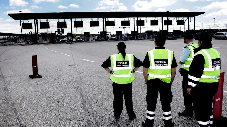 Fotografkod 436  نقطة التفتيش الحدودية بين الدانمارك والسويد