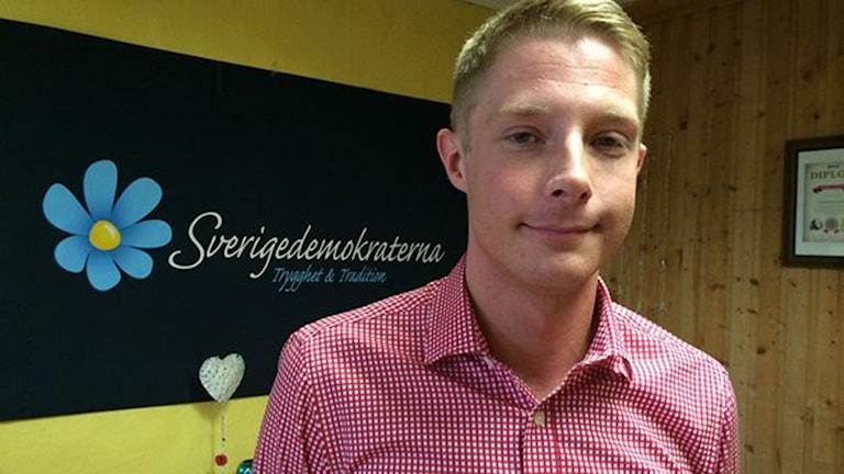 ohan Nissinen, Sverigedemokraterna. Foto: Emma Johansson/Sveriges Radio