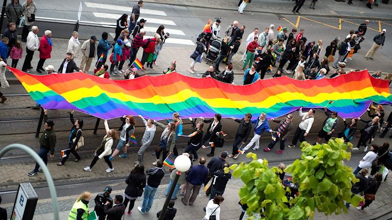 مسيرة لدعم المثليين.