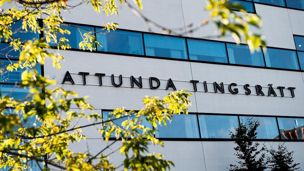 المحكمة البدائية في آتوندا في ضواحي العاصمة ستوكهولم.