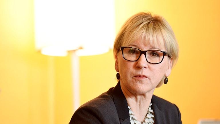 وزيرة الخارجية السويدية مارغوت فالستروم.
