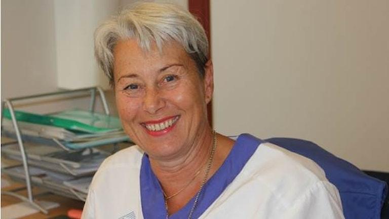 ماريتا ستينبك، رئيسة قسم الولادة في كارلسكرونا