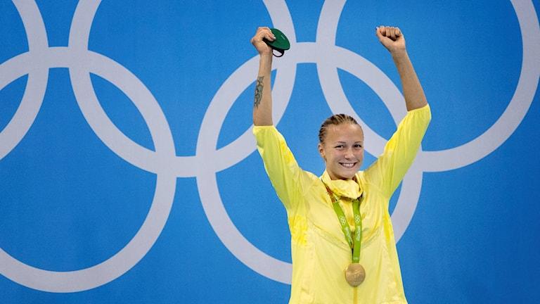 السباحة السويدية سارا خوستروم.