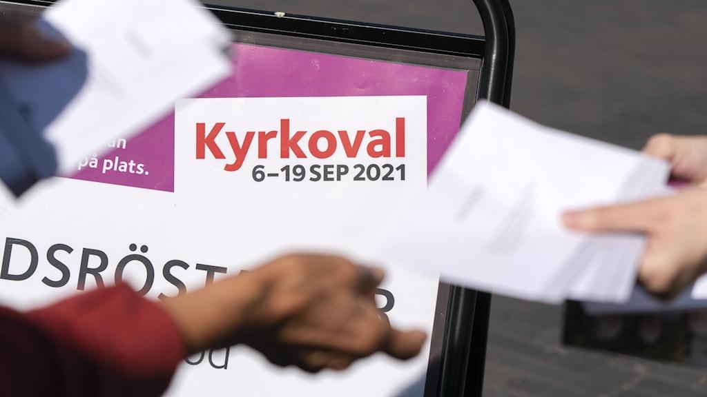 نتائج انتخابات الكنيسة السويدية 2021