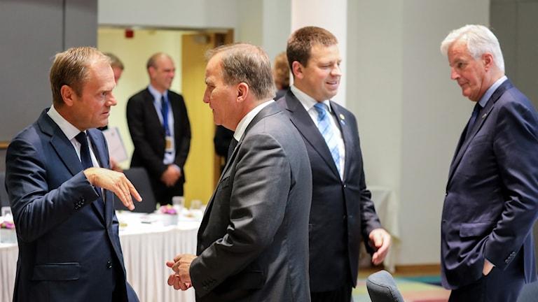 Sweden's Prime Minister Stefan Lofven