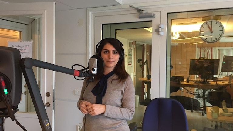 المديرة التنفيذية لراديو روزنة لينا الشواف