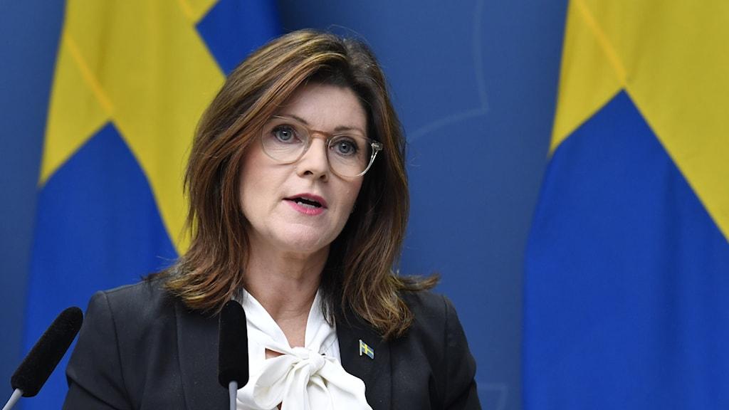 EVA NORDMARK Las-neuvottelu tiedotustilaisuus