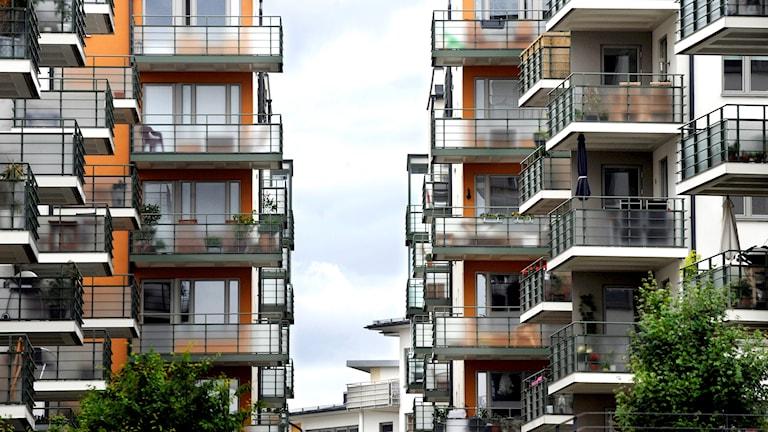 Bostadsrätter på lilla Essingen i Stockholm