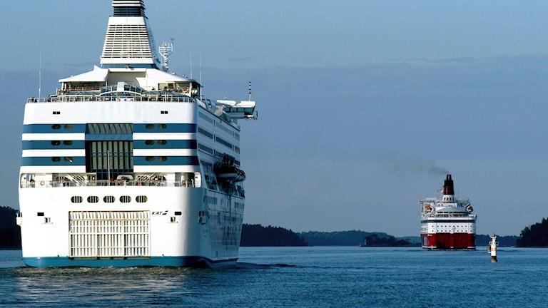Silja Line och Viking Lines
