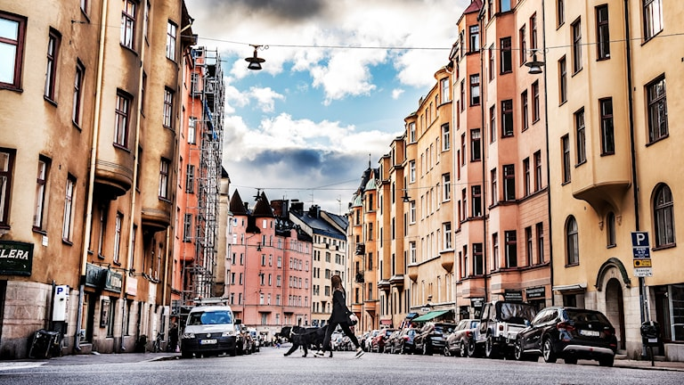 Bostadshus i Stockholms