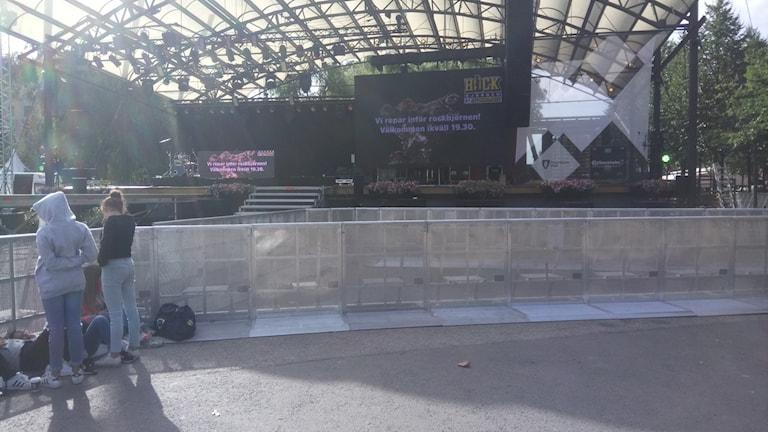 خلال بدء تحضير مهرجان ستوكهولم الثقافي