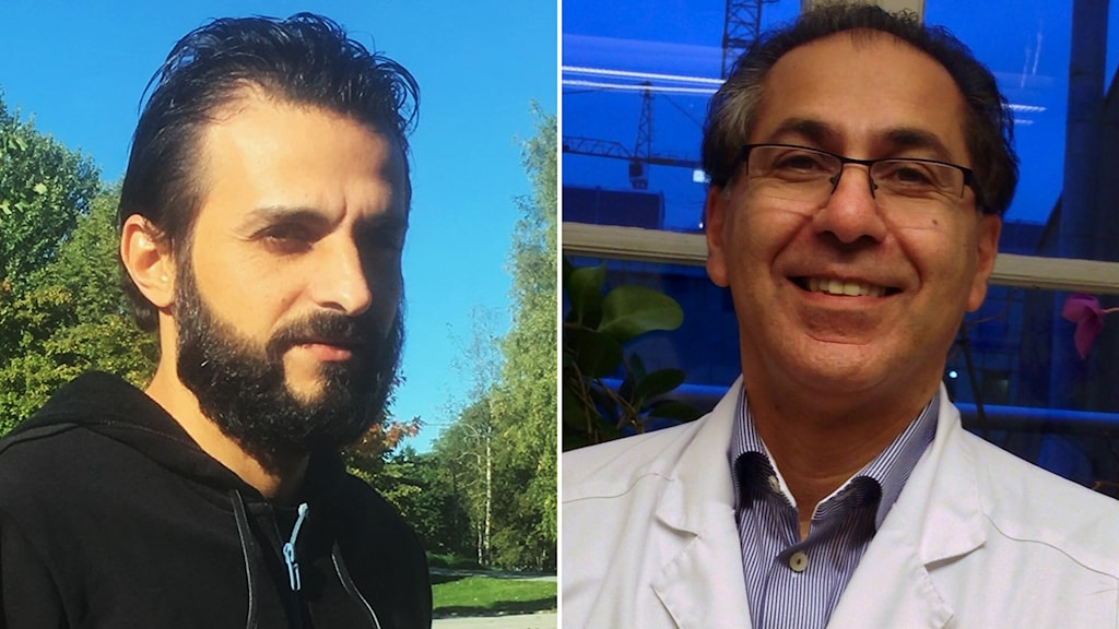 د.  فارس الخاليلي و علي رايزان