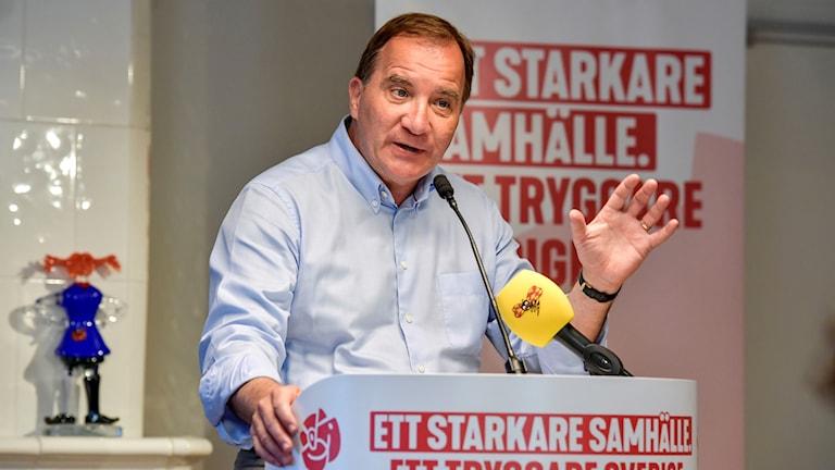 Statminister Stefan Löfven