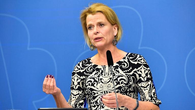 jämställdhetsminister Åsa Regnér