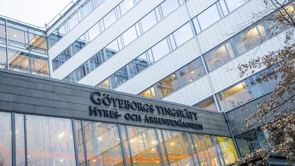 Göteborgs tingsrätt entré.