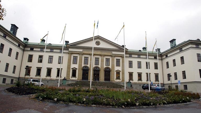 Landstingshuset på Hantverkargatan i Stockholm.
