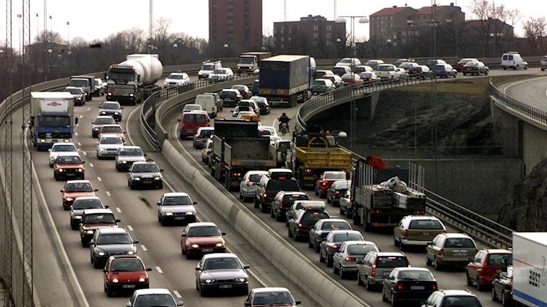 Trafiken på svenska vägar