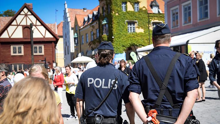Poliser i Almedalen