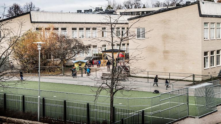 Al-Azhar skolan. Muslimsk friskola i västra Stockholm
