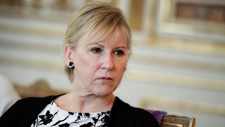Utrikesminister Margot Wallström