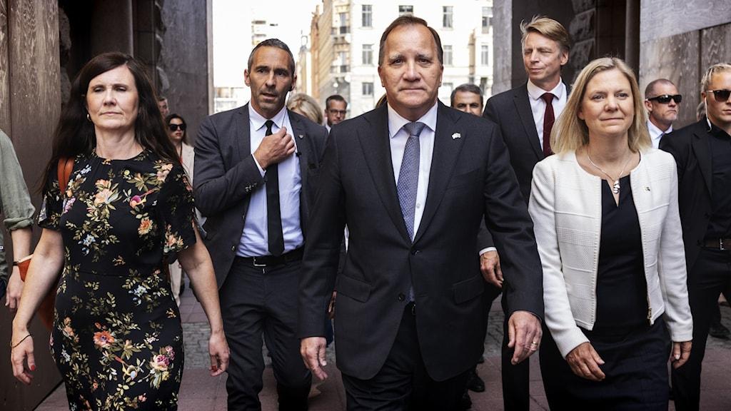 ستيفان لوفين رئيس الوزراء
