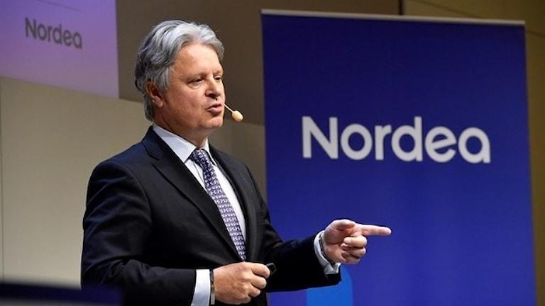 رئيس بنك نورديا كاسبر فون كوسكول  صورة:Jonas Ekströmer/TT