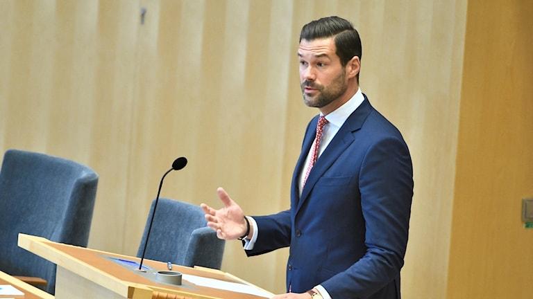 يوهان فورشل، المتحدث باسم الحزب في شؤون الهجرة.