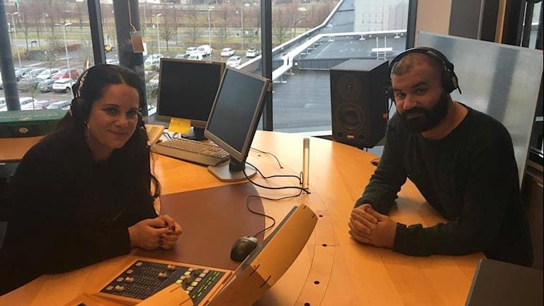 Lina Makboul och Khaled Alesmael