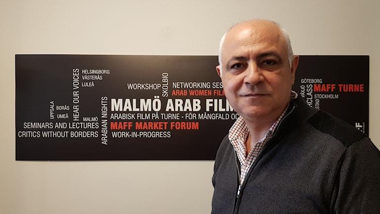 مؤسس ومدير مهرجان مالمو للسينما العربية محمد قبلاوي.