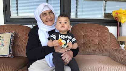 منوي شافعي الفلسطينة المقيمة في السويد منذ تسعينات القرن الماضي