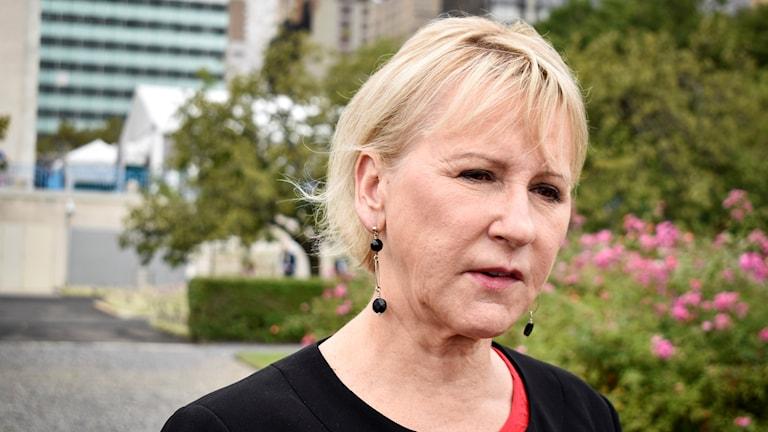 وزيرة الخارجية مارغوت فالستروم.