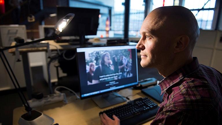 SVT-journalisten Fredrik Önnevall