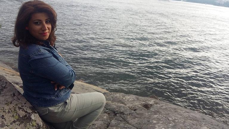 Den egyptiska journalisten Shaima Madboly