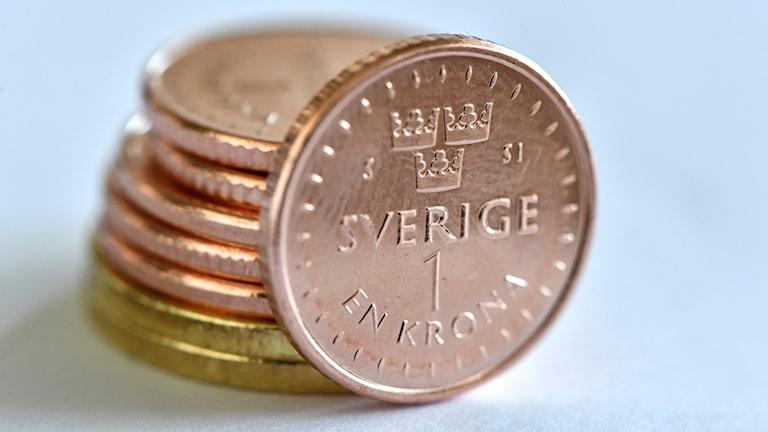 نقود سويدية.