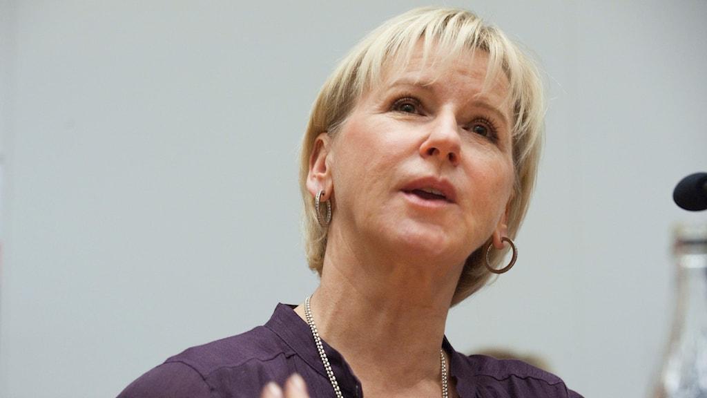 Margot Wallström. Arkivbild.
