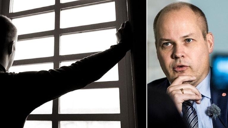 وزير العدل مورغان يوهانسون  صورة : TT.