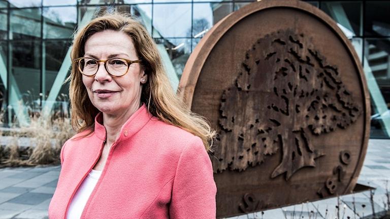 المديرة التنفيذية لسويدبانك بيرغيتي بونيسن