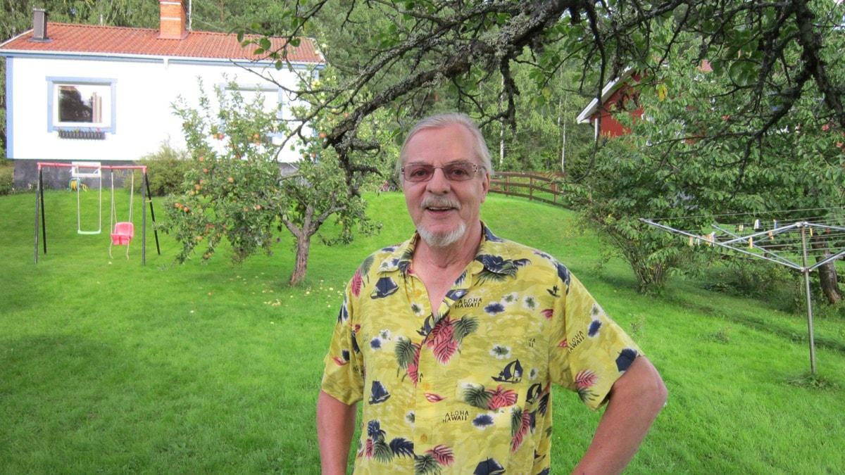 Vilho Ville Säkkinen / Foto Arja Claesson SverigesRadio