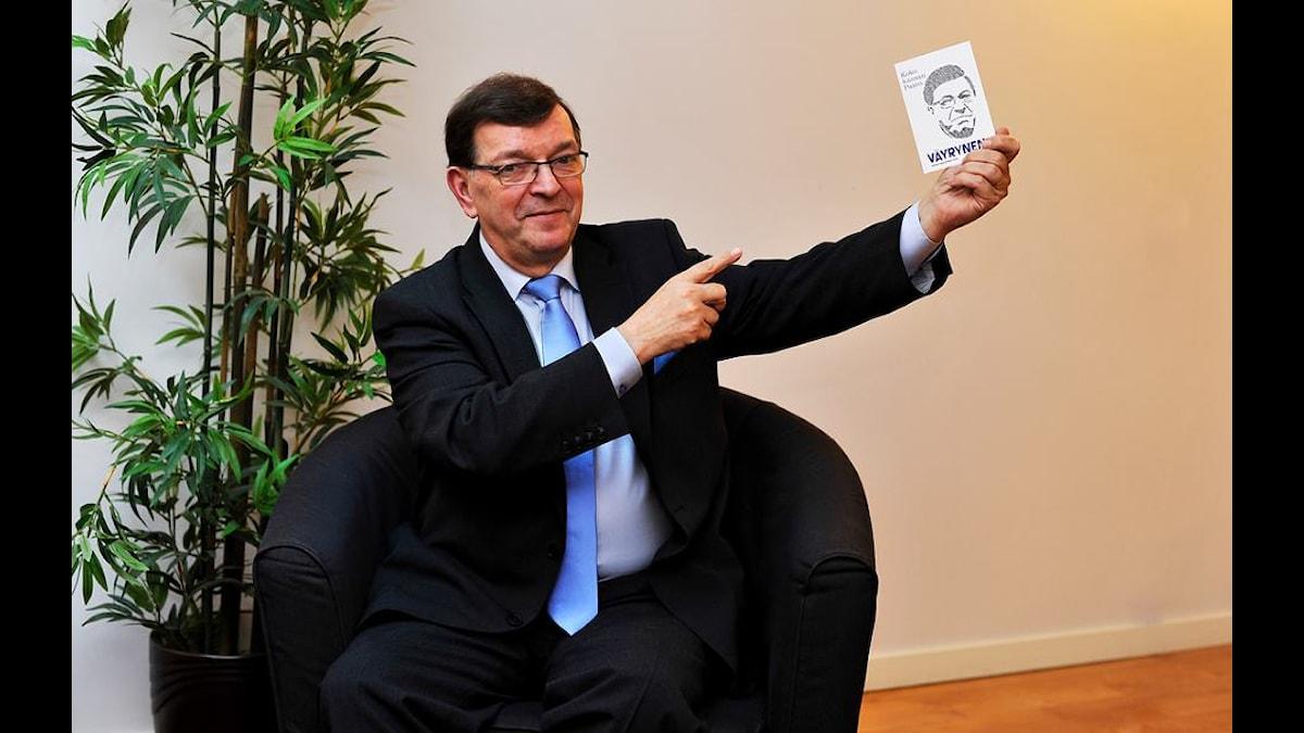 Paavo Väyrynen. Kuva/Foto: Privat.