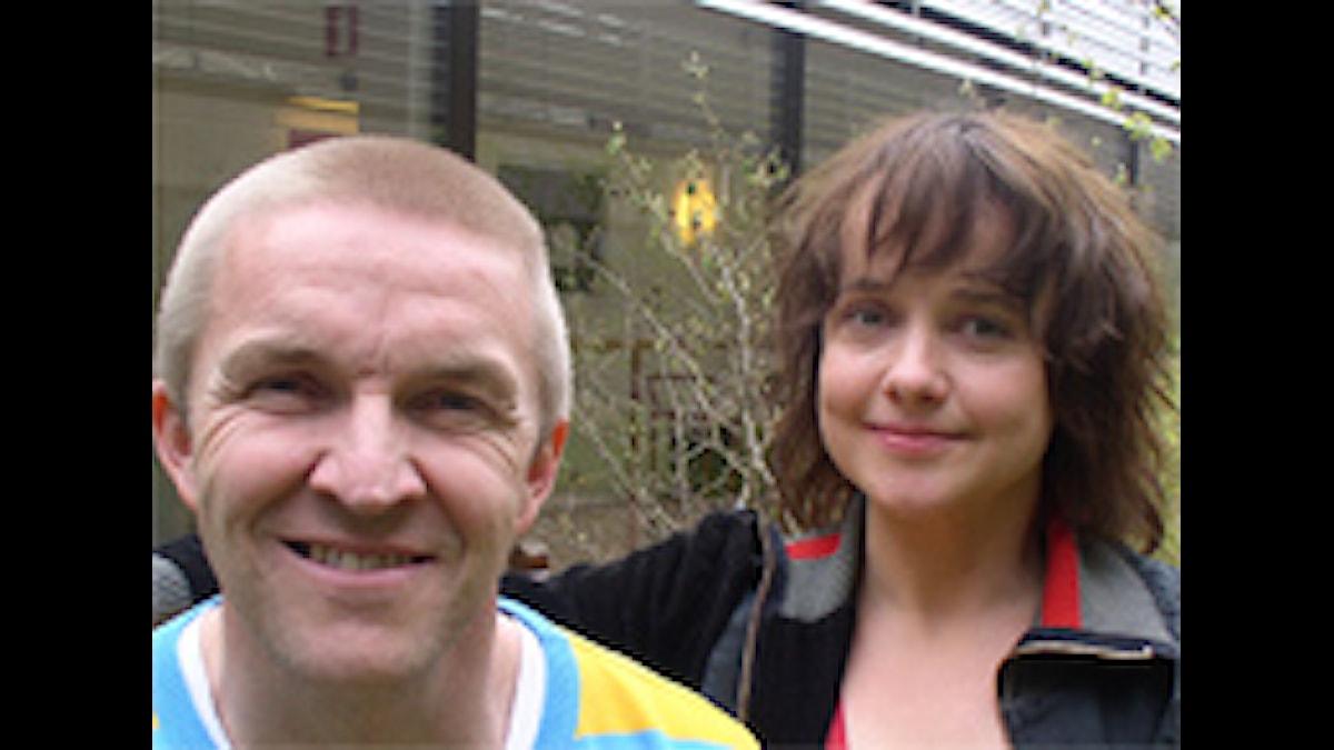 Timo Nieminen ja Siri Hamari