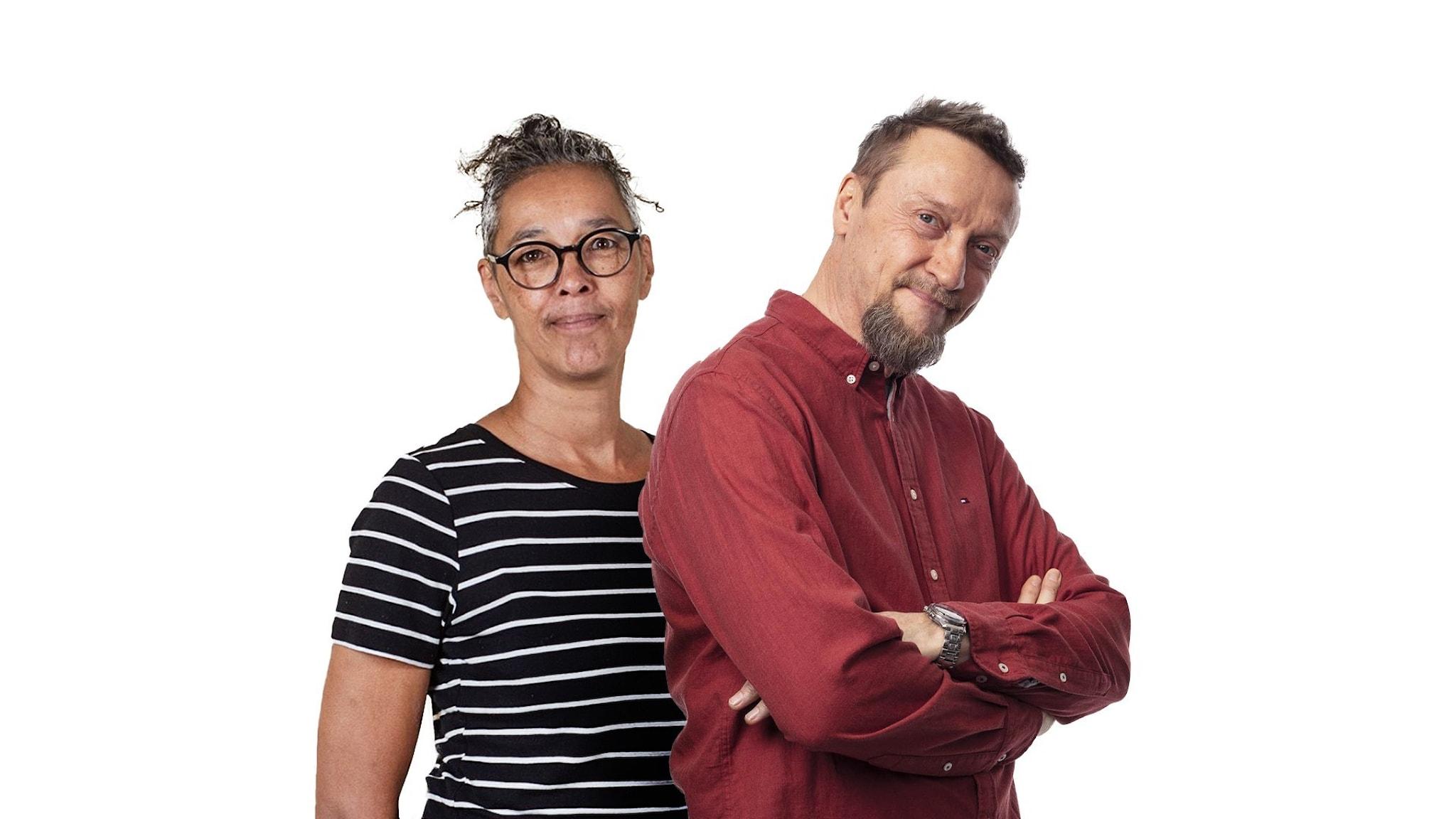 Liisa Tolonen och Christer Flythström