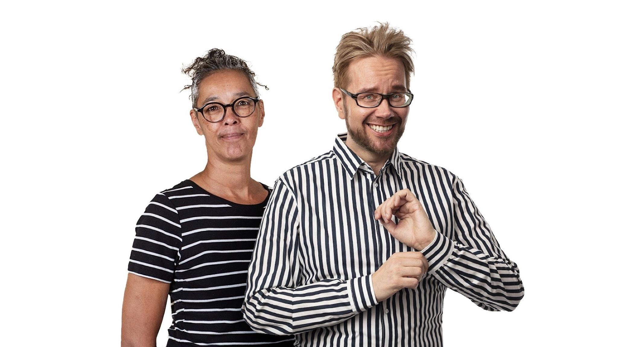 Liisa Tolonen och Erkki Kuronen