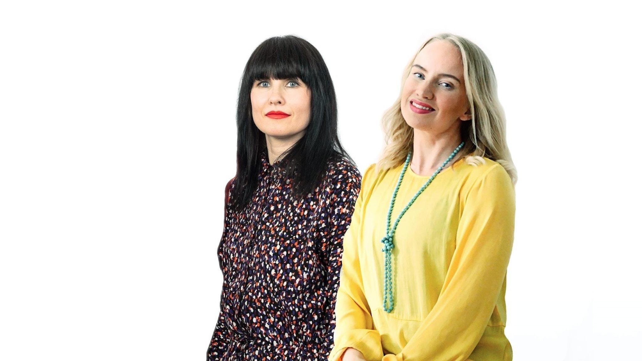 Hanna Paimela Lindberg och Tytti Jussila