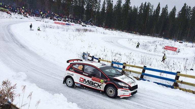 Fredrik Åhlin. Foto: Sara Johansson/Sveriges Radio.