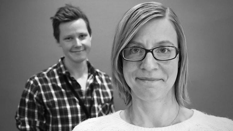 Robert Ojala och Johanna Skoglund. Foto: Lars-Gunnar Olsson/Sveriges Radio.