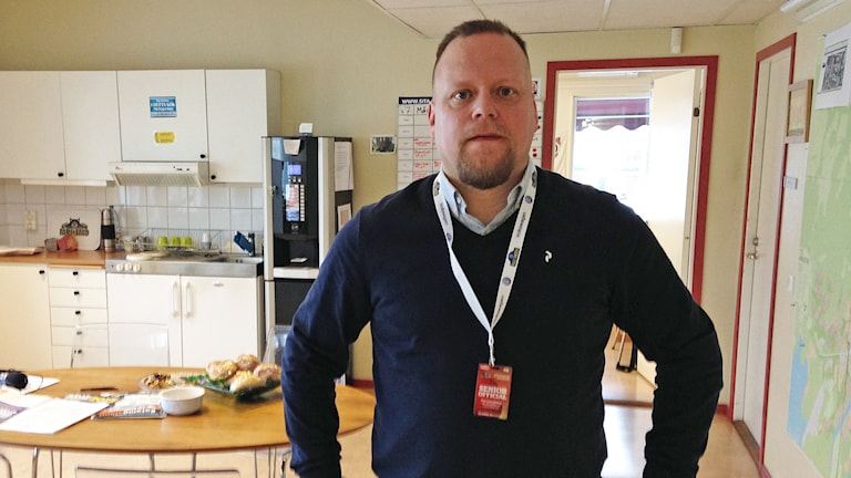 Per Ljungberg. Foto: Robert Ojala/Sveriges Radio.